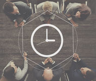 Time Management Duration Interval Graphic Concept Stock Images