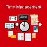 Time management illustration. Time management illustration concept. Business background Royalty Free Stock Image