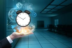 Time management and innovation concept Stock Image
