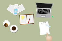 Time management method To Do List using Stock Image