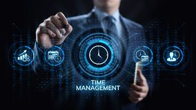 Time management project planning business internet technology concept. Time management project planning business internet technology concept royalty free stock photo