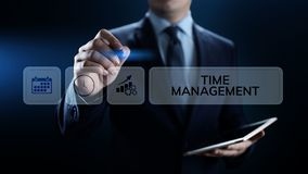 Time management project planning business internet technology concept. Time management project planning business internet technology concept stock photo