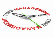 Time management. Project planning with a daily scedule to increase efficience and productivity. Organize your tasks set goals and don't waiste time stock illustration