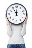 Time management for woman Stock Images