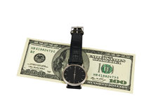 Time - money. Our time costs some money Royalty Free Stock Photos