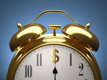 Time for money Royalty Free Stock Image