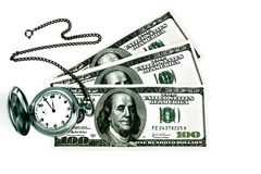 Time and Money. Royalty Free Stock Images