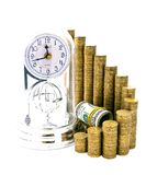 Time is money. Financial success concept Stock Photo