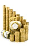 Time is money. Financial success concept Royalty Free Stock Image