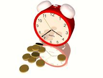 Time of money Stock Image