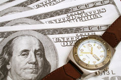 Time is money. Shot of time is money Royalty Free Stock Images