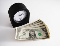 Time is Money 2. Time is Money! Emphases how important time is Stock Image