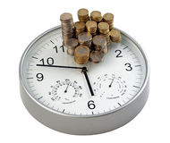 Time is Money. Concept for business efficiency royalty free stock images