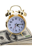 Time for money. Royalty Free Stock Images