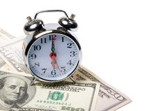 Time and money royalty free stock photography