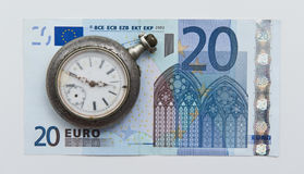 Time is money. Concept of Time is money phrase Royalty Free Stock Images