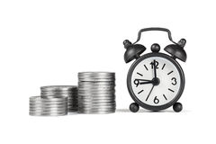 Time and money. The importance of time in business Royalty Free Stock Image