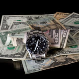 Time and money Royalty Free Stock Image