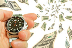 Time - money! Royalty Free Stock Image