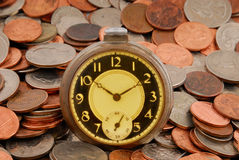 Time in Money Stock Images