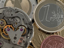Time Money Royalty Free Stock Photography