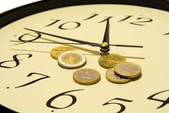 Time and money Stock Image