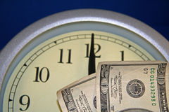 Time is Money. Clock royalty free stock photography