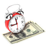 Time is Money 3D Concept. Royalty Free Stock Photography