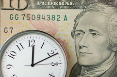 Time and Money Stock Photo