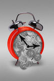 The time is money royalty free stock photo