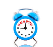 Time is money! Alarm clock Royalty Free Stock Photo