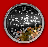 TIME & MONEY Royalty Free Stock Photography