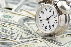 Time - money. Business concept. Royalty Free Stock Images