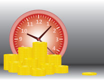 Time is money business concept Royalty Free Stock Photography