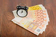 Time - money. Business concept Royalty Free Stock Images