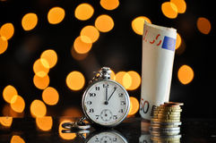 Time and money. business concept Stock Photos