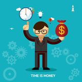 Time Is Money business concept Stock Image