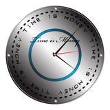 Time is money clock Royalty Free Stock Images