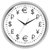 Time is money clock Royalty Free Stock Photo