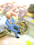 Time is money close-up Stock Photos