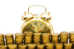 Time is money concept Stock Photography
