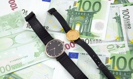 Time is money. Concept. Stock Image