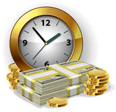 Time is money concept Royalty Free Stock Photo