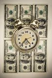 Time in money concept Royalty Free Stock Photos