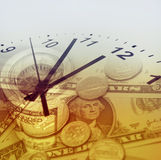 Time is money concept Royalty Free Stock Image