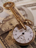 Time And Money Concept Royalty Free Stock Photos