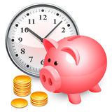 Time is money concept. Royalty Free Stock Image