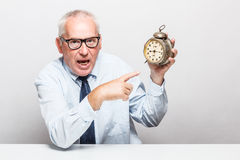 Time is money concept. Royalty Free Stock Photos