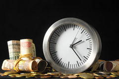 Time is Money Concept Royalty Free Stock Photography