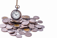 Time is money concept. Stock Image